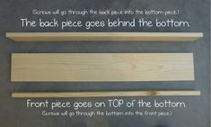Pieces by Polly: Easy Front-Facing Picture Book Display Shelves