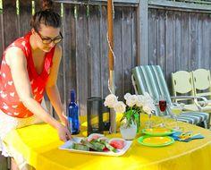 Backyard BBQ Party Ideas: Lighting and Decor