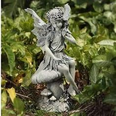 Garden Fairy Statues     Yahoo Image Search Results