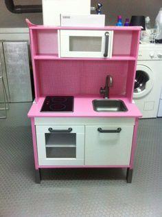 Diy personaliza tu cocinita de ikea con papeles pintados - Cocina nina ikea ...