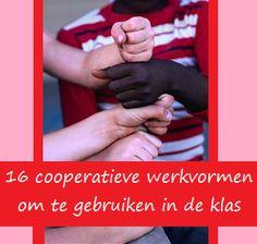 cooperatieve werkvormen om te gebruiken in de klas
