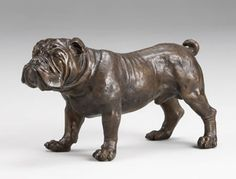 Bronze Bulldog 22 inches  $635