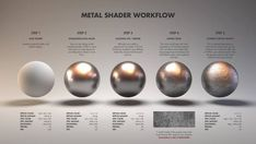 [image] Title: Material Studies: Metals Name: Jarrod Hasenjager Country: South Africa Software: Houdini Arnold Submitted: April 2016 Hello all, this is my first entry into what will be a series of studies on di… Blender 3d, Image Blender, Vray Tutorials, 3ds Max Tutorials, Drawing Tutorials, Zbrush, Cinema 4d Tutorial, 3d Tutorial, 3d Texture