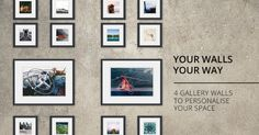 4 Gallery Wall Layouts to Personalise Your Space - Orms Connect