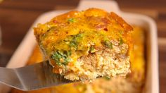 Loaded Cauliflower Breakfast Bake