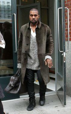 Kanye West en Nueva York (26 de noviembre). / Kanye West in NYC (November 26).