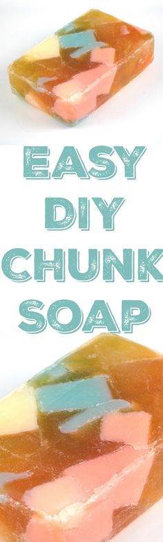 Chunky Confetti Block Soap — CraftBits.com #soapmaking #soaprecipes #soapmakingforbeginners #soap #diy #craft #soapmakingbusiness #soap #handmadesoaps #meltandpour #meltandpoursoap