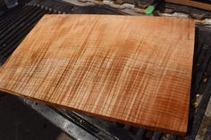 AND A HOST OF OTHER NATURAL CHALLENGES. 1 pc. CURLY MAPLE FOR BASS GUITAR. CURLY MAPLE. I LOVE CHAINSAWING AND BANDSAWING, BUT PAPERWORK IS ONE OF MY LESSER LOVED TASKS. FOLKS, LIFE HAPPENS. WE'VE EXPERIENCED ALL THE ABOVE. | eBay!