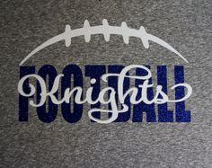 Custom Football Shirt Long sleeves Sweatshirt by GlitterMomz