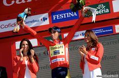 2014 vuelta-a-espana photos stage-10 - 4th today and now the new race leader, Alberto Contador (Tinkoff - Saxo)