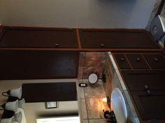 ~Two Tone Cabinet Lower Bath~