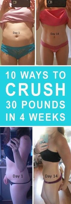 10 Ways to Lose 30 Pounds in 4 Weeks | Valueable Tips and Tricks