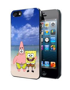 Spongebob And Patrick Summer Beach iPhone 4 4S 5 5S 5C Case