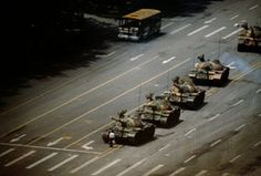'The images of the massacre have slipped from view' … Franklin's photograph of Tiananmen Square in 1989.