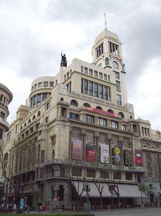 Located Near Abba Granada Hotel, Madrid (/məˈdrɪd/, Spanish: Bauhaus, Amsterdam, Spanish Architecture, Art Deco, Senior Trip, Magic City, Best Cities, Granada, Where To Go