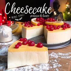 RECETA FITNESS: Cheesecake proteico de limón (Receta de navidad)