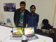 Proyecto de Cochabamba gana hackaton de videojuegos.  Arnold Guzmán. Ingeniero en informática -UTO Luis Flores. Ingeniero en mecatrónica - UCB