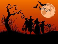 Resultado de imagem para como fazer um quadro grande para o halloween