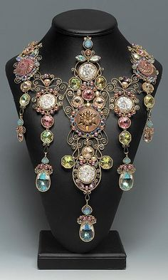 Necklace | Caroline Fung. 'Memories of a Showgirl'.