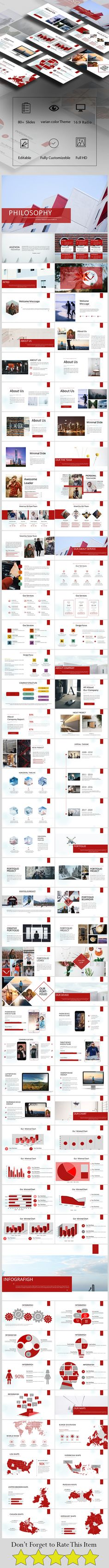 23 red business report powerpoint templates the highest quality philosophy multipurpose presentation toneelgroepblik Image collections
