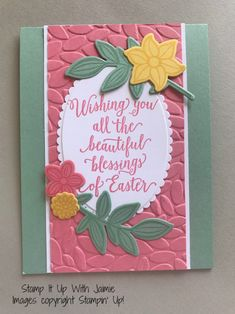 Happy Easter! – Stamp It Up with Jaimie