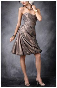 Sweetheart Sleeveless A-line Grays Bridesmaid Dresses - Outerdress.com 0dc68c25b2fd