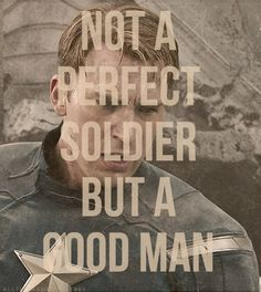 :) I like Captain America so much more than I like the guy who plays him though - he just has a slight air of arrogance.