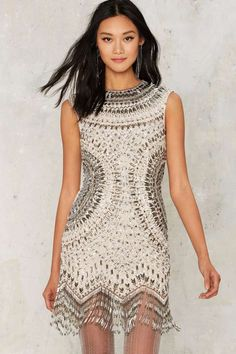 Nasty Gal Collection Swingin' in the Rain Fringe Dress - Clothes | Nasty Gal Collection | Cocktail Dresses | Dresses | All Party
