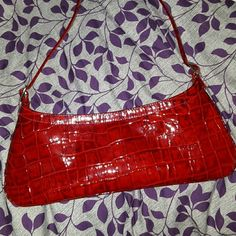 Beautiful red handbag Beautiful small red shoulder bag. Like new condition. Bright red. Rob Ference  Bags Shoulder Bags