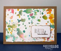 Karten-Kunst » Blätterrauschen