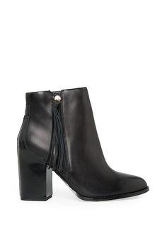 Ankleboots aus Leder / leather ankle boots