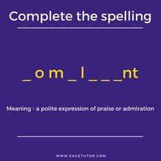 test Complete the spelling and guess the word. Online English Speaking Course, English Speaking Skills, English Language Learning, English Class, Speak English Fluently, English Grammar, Guess The Word, Spelling Test, Public Speaking