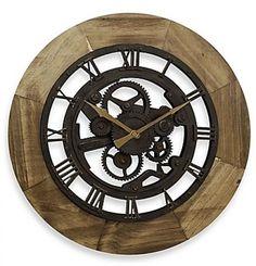 FirsTime® Gear Wall Clock in Bronze #FirsTime