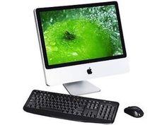 """Apple iMac MB323LL/A/C2D/2.4/4GB/250GB/10.11 20"""" Refurbished Desktop Computer"""