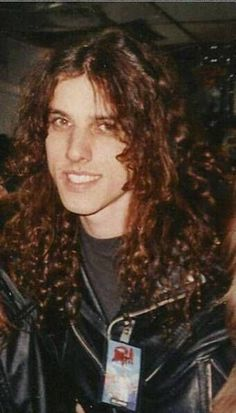 Chuck Schuldiner Heavy Metal Rock, Heavy Metal Music, Black Metal, Chuck Schuldiner, Sculpted Arms, Dimebag Darrell, Extreme Metal, Metal Stars, Thrash Metal