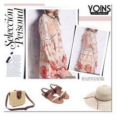 """""""Yoins - A-line Dress."""" by tatajrj ❤ liked on Polyvore featuring yoins"""
