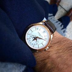 Patek Philippe 5205 Annual Calendar in rose gold landed late at the shop last…