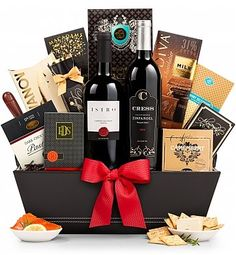 Wine Baskets The 5th Avenue Gift Basket Corporate Gifts
