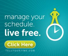Develop your personal time management skills with the Tell Your Time ebook (written by a busy Mom with real, practical advice)