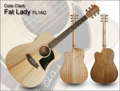 Cole Clark FL1AC. my fave.