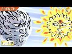 The Wind and the Sun: Learn English (UK) with subtitles - Story for Chil. Learn Russian, Learn German, Learn English, How To Speak French, How To Speak Spanish, Learn French, French Lessons, Spanish Lessons, Learning Spanish