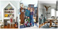 """Take a tour of the """"American Pickers"""" star's antique-filled Tennessee home."""