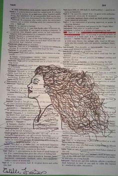 Dictionary art: Hair