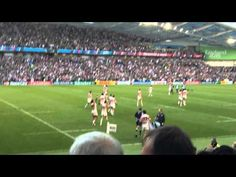 Rugby world cup 2015 Japan vs South Africa at the stadium 1