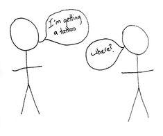 I love stick figure humor:) Stick Figure Tattoo, Stick Figure Drawing, Love Stick, Stick Man, Funny Stickman, Funny Stick Figures, Jokes About Men, Funny Cartoon Pictures, Goofy Pics