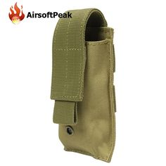 Tactical Flashlight Bag Military Molle Pouches Outdoor Hunting Bags Sundries Bag Magazine Pocket Storage Accessories Pouch