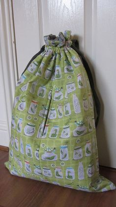cute drawstring bag by sewanna