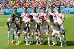 FIFA World Cup 2014  - Costa Rica 1 Italia 0 (6.20.2014) Costa Rica players pose for a team photo before the 2014 FIFA World Cup Brazil Group D match between Italy and Costa Rica at Arena Pernambuco on June 20, 2014 in Recife, Brazil. Jamie McDonald / Getty Image