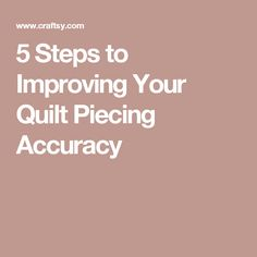 5 Steps to Improving Your Quilt Piecing Accuracy Quilting Blogs, Quilting Rulers, Free Motion Quilting, Quilting Tutorials, Quilting Designs, Quilting Ideas, Quilting Projects, Sewing Projects, Hand Quilting