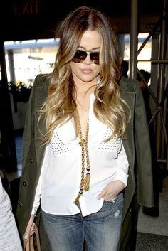 Celeb Diary: Khloe Kardashian @ LAX
